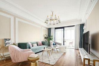 70平米美式风格客厅装修案例
