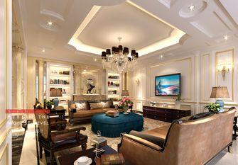 豪华型140平米别墅法式风格客厅图片