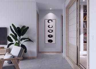 90平米一室一厅日式风格走廊图片