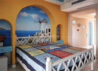 140平米复式地中海风格卧室欣赏图