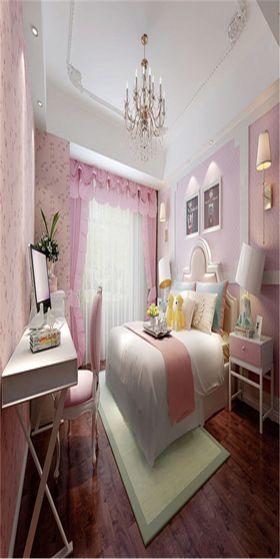 140平米中式風格臥室裝修圖片大全