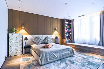 140平米三室五厅现代简约风格卧室装修图片大全