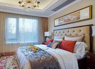 80平米三室一厅新古典风格卧室欣赏图