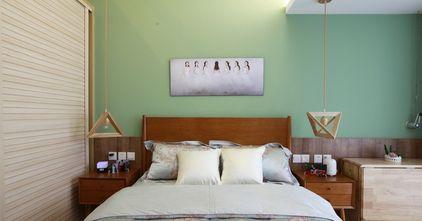 50平米复式田园风格卧室图片