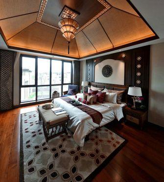 110平米三室一厅东南亚风格卧室装修案例