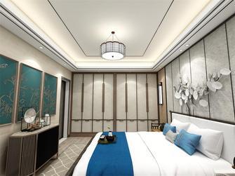 130平米中式风格卧室图片
