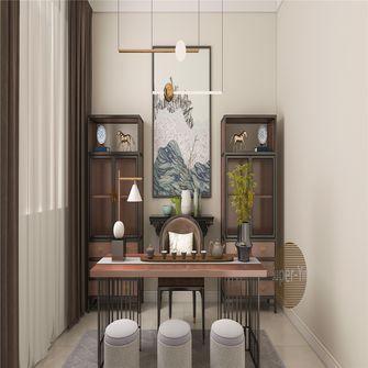 130平米三室两厅新古典风格书房装修案例