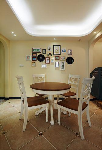80平米三地中海风格餐厅装修图片大全