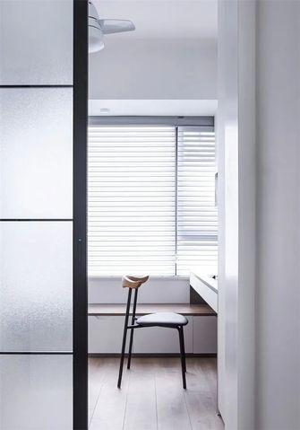 90平米三室两厅北欧风格书房装修案例
