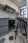 富裕型50平米小户型现代简约风格厨房装修案例