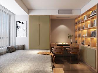 80平米复式北欧风格卧室装修效果图