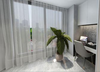110平米三室一厅现代简约风格阳台效果图