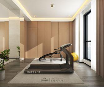 140平米四室两厅现代简约风格健身室欣赏图