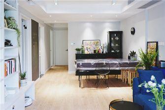 80平米混搭风格客厅装修图片大全