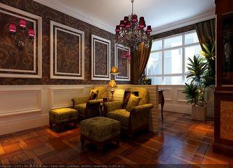 140平米三室两厅美式风格影音室图