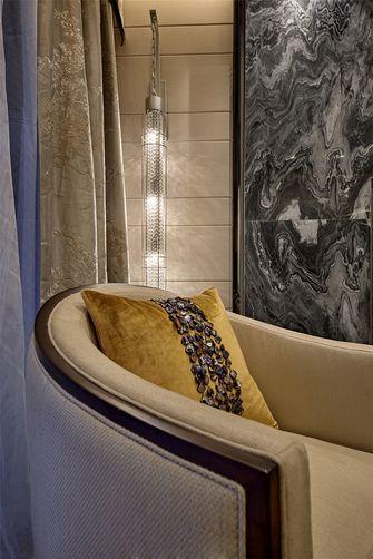 140平米一室一厅中式风格阳台欣赏图