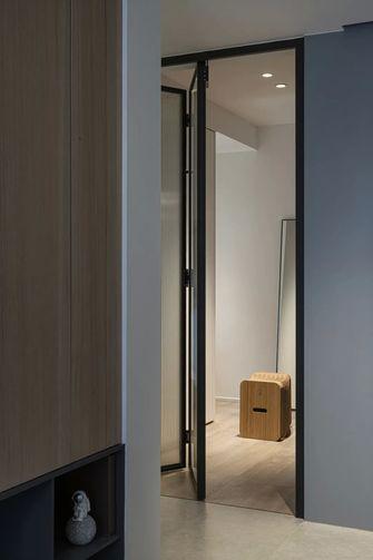 110平米一室两厅现代简约风格衣帽间设计图