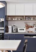 70平米一室两厅北欧风格厨房图