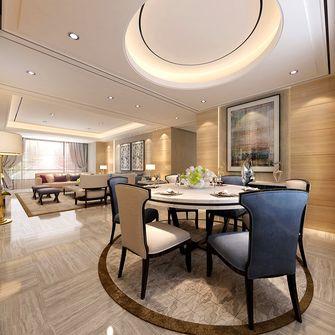140平米三室两厅法式风格餐厅装修效果图