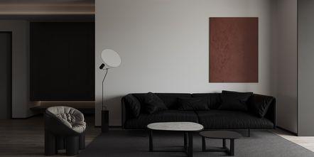 50平米一居室混搭风格客厅设计图