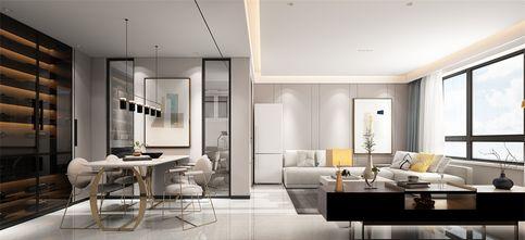 90平米现代简约风格走廊图