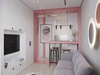 50平米一室一厅现代简约风格客厅装修图片大全