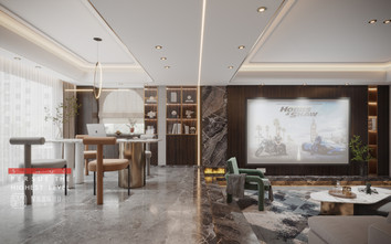 140平米别墅其他风格健身室装修案例