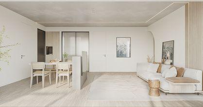 90平米混搭风格客厅装修效果图