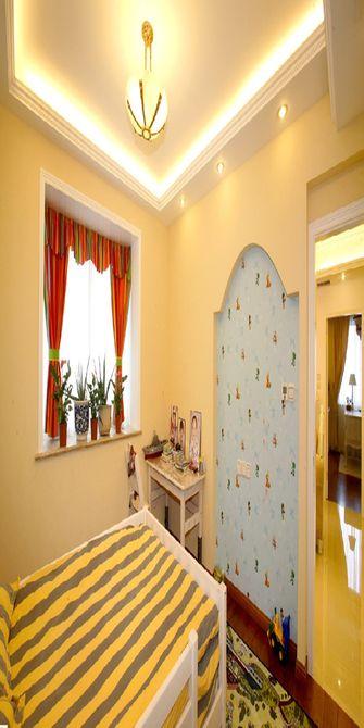 110平米三室两厅田园风格儿童房图