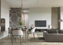 60平米一室一厅宜家风格餐厅设计图