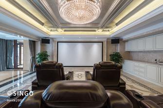 140平米四室两厅欧式风格影音室装修案例