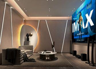 140平米四室两厅现代简约风格影音室图