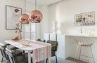 60平米一居室现代简约风格餐厅图片大全
