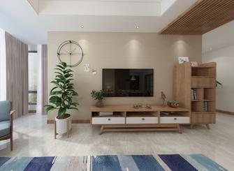 130平米复式日式风格客厅图