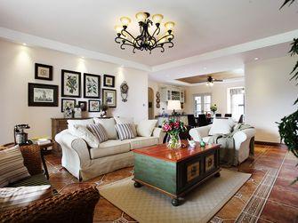 140平米四室一厅田园风格客厅装修效果图
