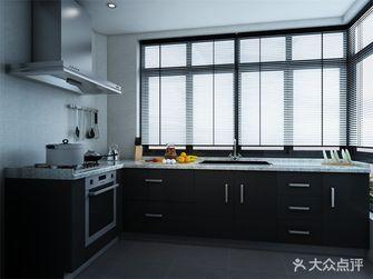 110平米三室两厅现代简约风格厨房橱柜设计图