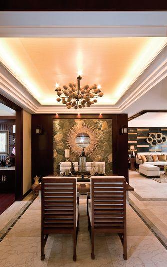 90平米三室一厅东南亚风格餐厅装修案例