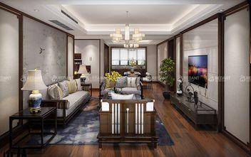 130平米四中式风格客厅装修案例