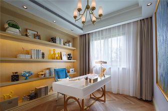 5-10万90平米三室两厅地中海风格书房图片