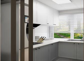 70平米现代简约风格厨房设计图