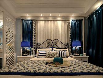 140平米三室两厅地中海风格卧室图片