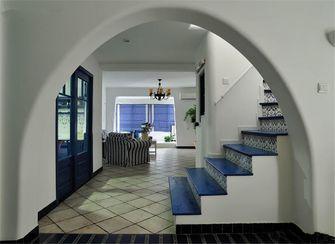 豪华型100平米三室两厅地中海风格楼梯效果图