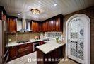 120平米三室两厅美式风格厨房橱柜图片