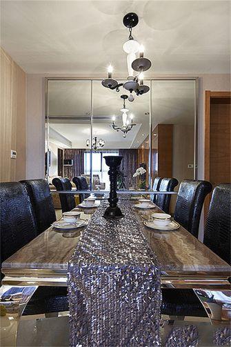 90平米新古典风格餐厅设计图