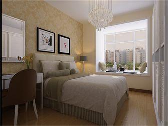 80平米现代简约风格卧室壁纸装修图片大全