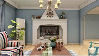 90平米三室一厅地中海风格客厅装修案例