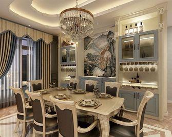 140平米四室一厅新古典风格餐厅图片
