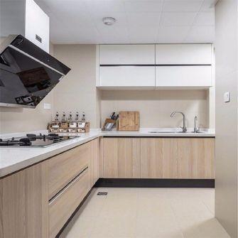130平米四室一厅日式风格厨房图片