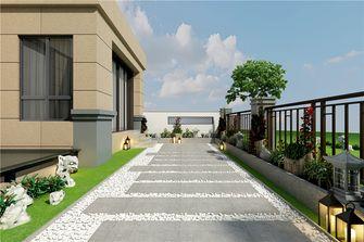 20万以上140平米别墅中式风格阳台装修图片大全