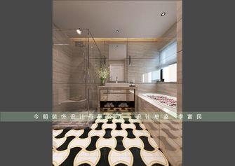 140平米别墅美式风格卫生间图